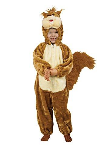 Fiori Paolo- Costume per Bambini, Marrone/Beige, Medium (3-4 anni), 55721.3-4