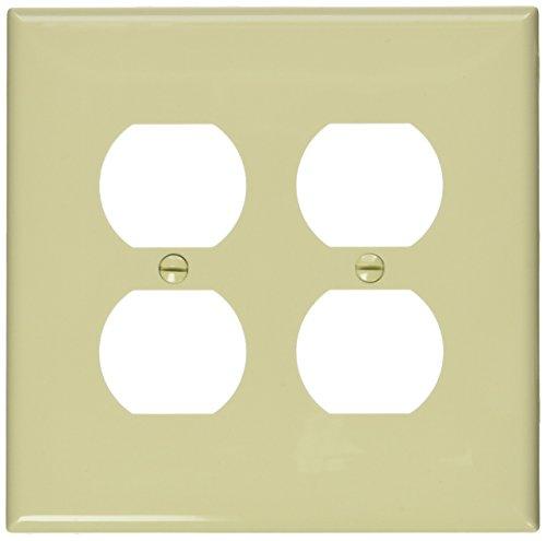 Leviton Objektbereich Duplex Gerät mit Wanddose Behälter, PJ82-I (Leviton Duplex)