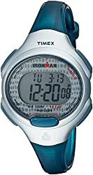 Timex Womens TW5M10100 Ironman Essential 10 Blue/Gray Resin Strap Watch
