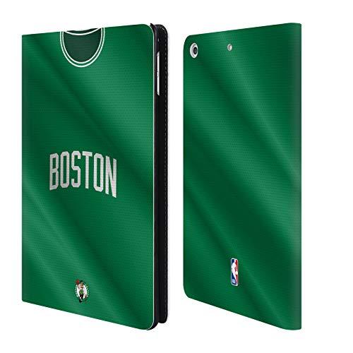 Head Case Designs Offizielle NBA Jersey Strasse 2018/19 Boston Celtics Brieftasche Handyhülle aus Leder für iPad Mini 4 Boston Celtics Mini