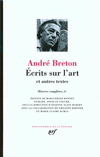 Ecrits Sur L'Art - Leatherbound par Andre Breton
