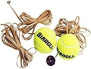 مدرب تنس Yougou01، تنس قوي مع رباط مطاطي، كرة ارتداد أحادية لممارسة التمارين الرياضية، مجموعة تدريبات التنس، ت