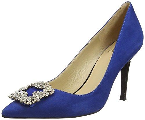 Primafila 97.3.004, Chaussures à talons - Avant du pieds couvert femme Bleu - Bleu océan