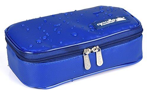 DCCN Wassdichte Insulin Kühltasche Diabetiker Tasche für Medikamente Thermotasche Portable Medical Travel Kühler Fall Diabetiker Organizer für Medikamente Thermotasche und Alufolien Blau