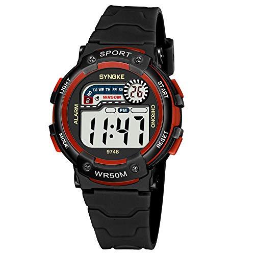 Preisvergleich Produktbild Aediea 9748 Kinder Elektronische Armbanduhr Wasserdicht Mode Sport Digital Armbanduhr für Jungen Mädchen