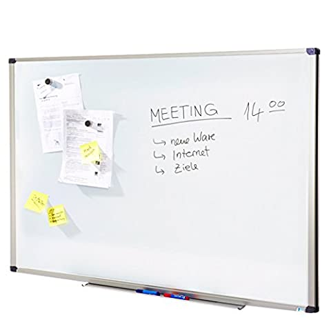 Tableau blanc Master of Boards® surface laquée résistante   tailles