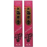 Trimontium 98714 Nippon Kodo Morning Star japanische Räucherstäbchen Duopack, 2 x 50 Stück, Lotusblüte/Lotus preisvergleich bei billige-tabletten.eu