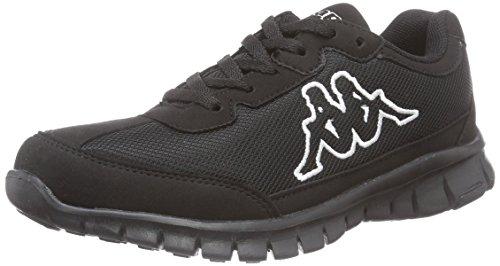 Kappa - Sylvester Ii Footwear Unisex, Sneakers, unisex, Nero (Noir (1111 Black)), 36