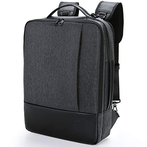 Lifewit 15.6 Pollici Zaino Porta PC Multifunzionele Borsa Messenger a 3-in-1