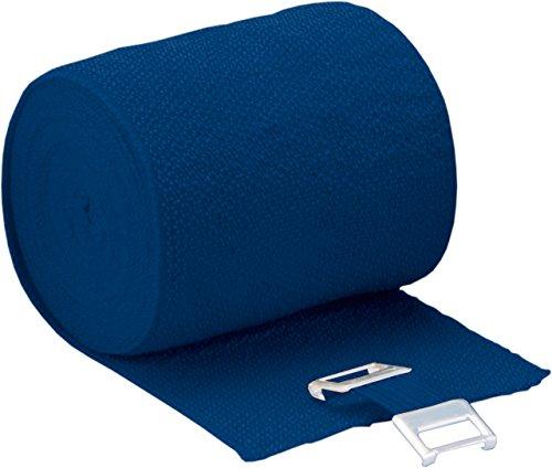Höga Lastic-Color, blau, 8 cm x 5 m gedehnt, dauerelastische Idealbinde, 1er Pack (1 x 0.047 kg)