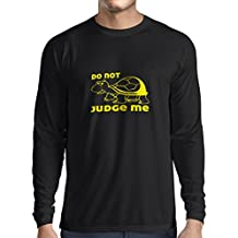 N4318L Camiseta de Manga Larga No me juzgues