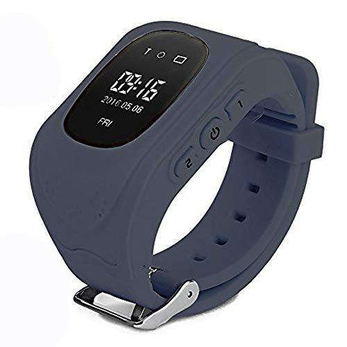 Themoemoe Q50 - Reloj Inteligente para niños y niñas, con rastreador GPS,  localización de Llamadas, Monitor Remoto antipérdida, podómetro, Reloj