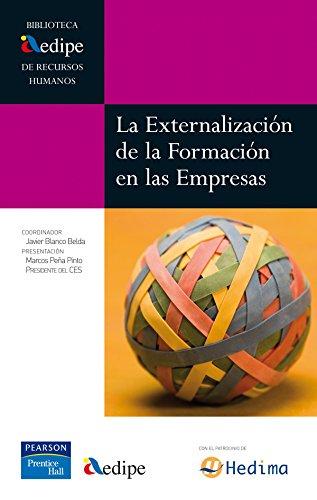 Libro externalización de la formación