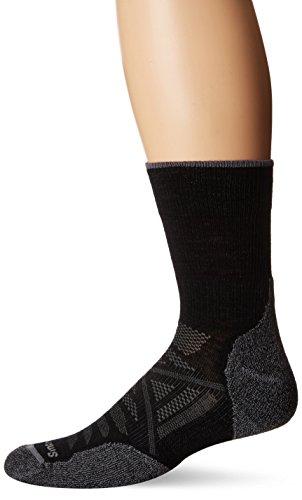 Preisvergleich Produktbild Smartwool - - Unisex-Adult PhD® Außenleuchte Mid Crew Socken,  Large,  Black