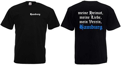 2ef6e5788de177 HAMBURG T-Shirt meine Heimat meine Liebe mein Verein Ultrasschw-XXL