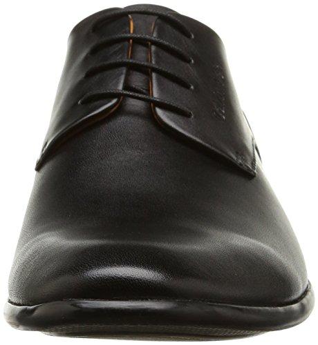 Calvin Klein Ferris Soft Calf, Chaussures Lacées Homme Noir (Blk)
