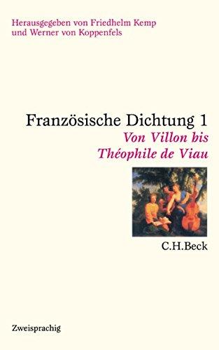 Preisvergleich Produktbild Französische Dichtung: Eine zweisprachige Anthologie in vier Bänden
