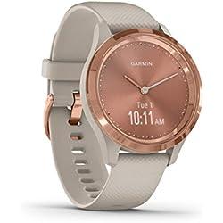 Garmin Vívomove 3S Sport - Reloj inteligente, color rose gold y tundra