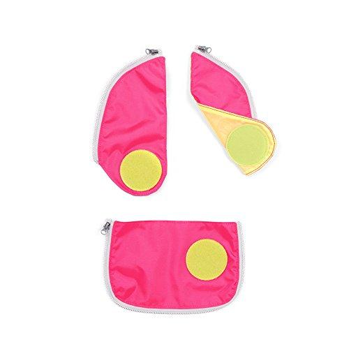 Ergobag Zubehör und Accessoires Sicherheitsset Cubo 3-tlg. Pink 511 pink