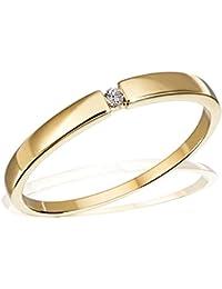 Goldmaid - So R4696WG56 - Bague Femme - Or blanc 333/1000 (8 carats) 1.5 gr - Diamant - T 56