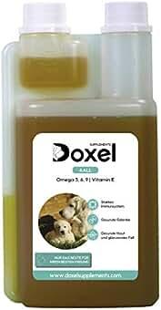 Doxel 4all-500ml Aceite para perros| Suplemento natural | Sistema Inmunitario reforzado| Articulaciones