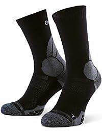 Eono Essentials – Calcetines de senderismo y trekking de lana merino para hombre y mujer (