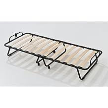 Somier plegable con 14 láminas de madera de haya 80x190 cm