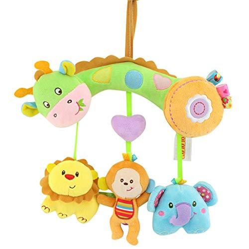 Mitlfuny Unisex Baby Kinder Jungen Zubehör Säuglingspflege,Baby-Hängende Spielwaren mit ()