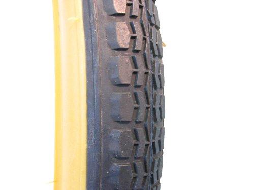 Filmer Fahrradreifen/Fahrraddecke 24 x 1,75 Standard, schwarz/braun, 45304