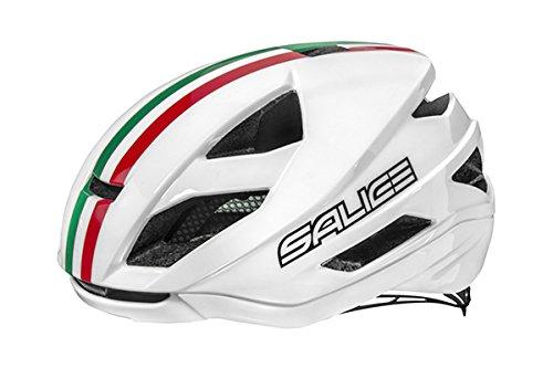 SALICE Casco Bike TG. 52-58 Bianco Italia Unisex Adulto