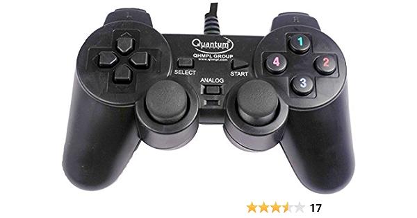 Quantum QHMPL QHM7468 USB Game Pad: Amazon.in: Video Games