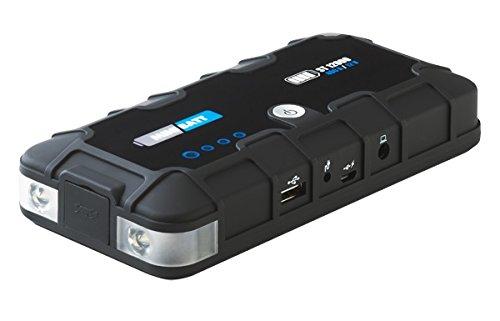 MiniBatt MB-ST12 – Miniarrancador (capacidad de 12000 mAh, batería LiCoO2, potencia de arranque de 300 A) color negro