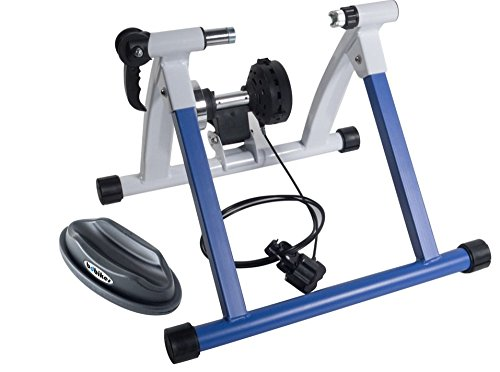 BDBikes Bike Magnetic Turbo Trainer -Variable Resistance Bike Trainer - Inc Front Wheel Rest
