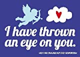 Postkarte Forbetter your Englisch 032b I have thrown an eye on you