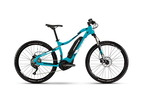 HAIBIKE Sduro HardSeven Life 2.0 27.5\'\' Damen Pedelec E-Bike MTB türkis blau/weiß 2019: Größe: S