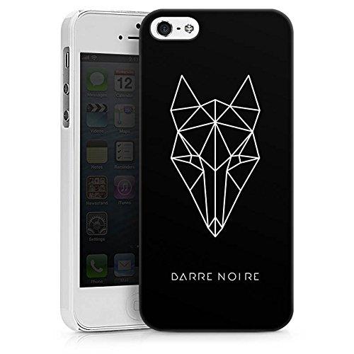 Apple iPhone X Silikon Hülle Case Schutzhülle Fuchs Fox Muster Hard Case weiß
