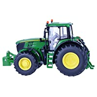 Britains 1:32 John Deere 6195m Tractor  Collectable Farm Vehicle Toy Suitable For Indoor and Outdoor Play  Suitable From 3 years