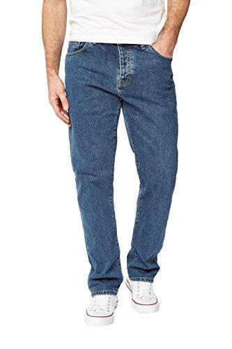 next Herren Jeans Straight Fit Mittel Blau