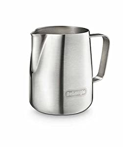De'Longhi 5513292881 Stainless Steel Milk Frothing Jug by DeLonghi