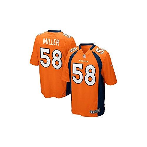 Nike Denver Broncos Nfl Game Team Jrsy - kurzärmeliges T-shirt Herren, Farbe Gold, Größe