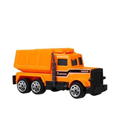 Inertia Engineering Truck, mamum lustig Druckguss Kunststoff Engineering Fahrzeugmodell Wheel für Kinder Auto Spielzeug Einheitsgröße B (Lustige Spongebob-bilder)
