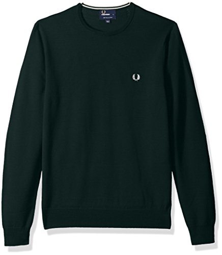 Fred Perry Fp Classic Crew Neck, Pullover Sportivo Uomo brit racing green
