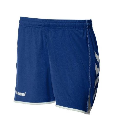 Hummel team spirit poly short Bleu - Bleu