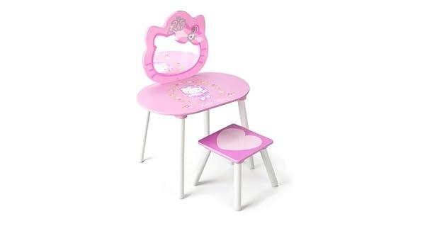 Delta tf hello kitty tavolo da toeletta con sedia circa