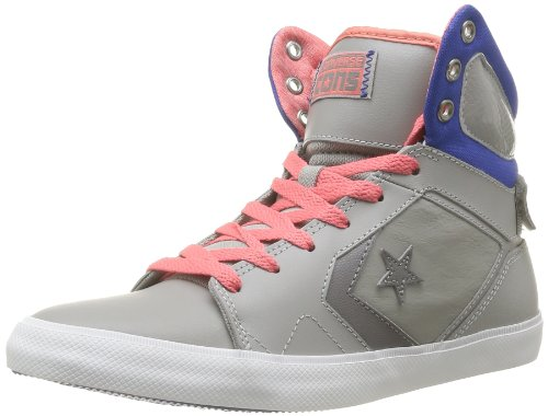 bleu All 12 Unisex Leather erwachsene Hohe Converse Mid Star Grau Sneakers gris qPdw7E
