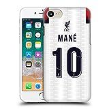 Head Case Designs Ufficiale Liverpool Football Club Sadio Mané 2019/20 Giocatori Away Kit Gruppo 1 Cover Dura per Parte Posteriore Compatibile con iPhone 7 / iPhone 8