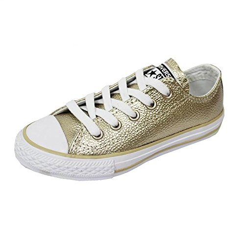 Converse Chuck Taylor All Star Metallic Junior luz Oro Piel