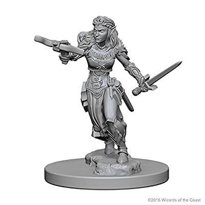Dungeons & Dragons: Nolzur's Marvelous Unpainted Minis: Elf Female Ranger