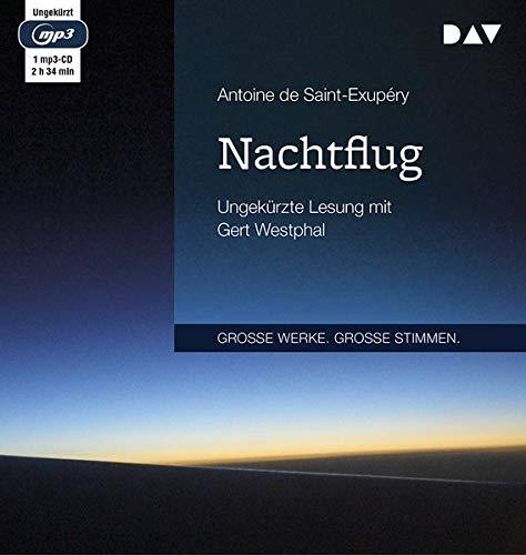 Nachtflug: Ungekürzte Lesung mit Gert Westphal (1mp3- CD)