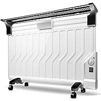 SEEKSUNGM Calentador, Calentador Portable, Sistema Inteligente Eléctrico del Control De La Temperatura, Radiador